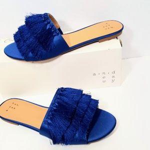 dcbbcd9b45ae Women s Benetta Tassel Slide Sandals -A New Day 8